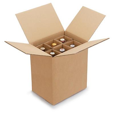 Krabice pre fľaše od 0,33 l do 0,5 l