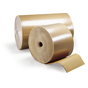 Kraft noppenfolie rol Ø 10 mm, 100 cm x 100 m