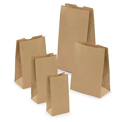 Kraftpapierbeutel, 50% recycelt