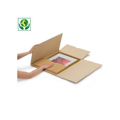 Kruiswikkelverpakking voor omvangrijke producten
