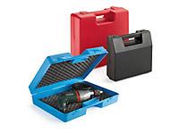 Kuffert med integrerede håndtag