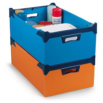 Bac gerbable en polypropylène alvéolaire##Kunststoff-Stapelboxen