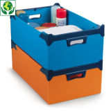 Kunststoff-Stapelboxen