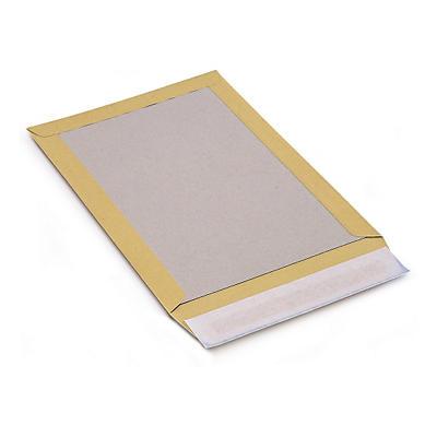 Kuvert med papbagside - Brun