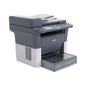 Kyocera FS FS-1325MFP, Laser, Impresión en blanco y negro, 1800 x 600 DPI, 250 hojas, A4, Negro, Blanco 1102M73NL2