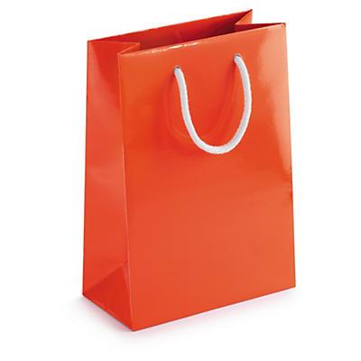 Lackpapier-Tragetaschen Flashy - RESTPOSTEN