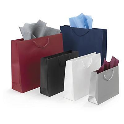 Sacs pelliculés mat par 2000 sacs##Lackpapiertragetaschen matt ab 2000 Stück
