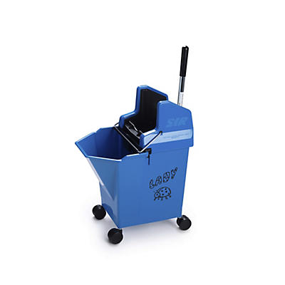 Ladymop Bucket with Wringer – 9 Litres