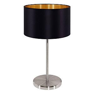 "Lampada da tavolo ""Maserlo"", Nero/Nickel"