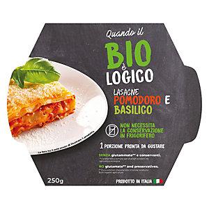 Lasagne Pomodoro e Basilico Quando il Bio è Logico, 250 g