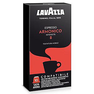 Lavazza Espresso Armonico Capsule per caffè, Espresso, Tostatura nobile, 10 dosi, 50 g, Compatibile Nespresso®*