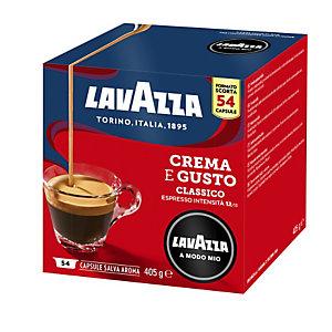 Lavazza A Modo Mio Crema e Gusto, Capsule per caffè Espresso, Tostatura media, 54 dosi, 405 g (confezione 54 capsule)