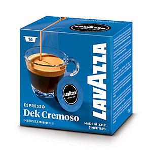 Lavazza A Modo Mio Dek Cremoso, Capsule per caffè, Decaffeinato, Espresso, Tostatura media, 16 dosi, 120 g (confezione 16 pezzi)