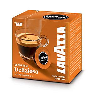 Lavazza A Modo Mio Delizioso, Capsule per caffè, Espresso, Tostatura media, 16 dosi, 120 g (confezione 16 pezzi)