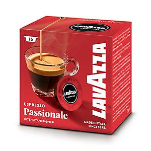 Lavazza A Modo Mio Passionale, Capsule per caffè, Espresso, Tostatura scura, 16 dosi, 120 g (confezione 16 pezzi)
