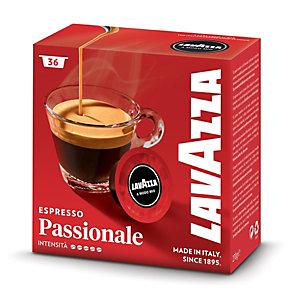 Lavazza A Modo Mio Passionale, Capsule per caffè, Espresso, Tostatura scura, 36 dosi, 270 g (confezione 36 pezzi)