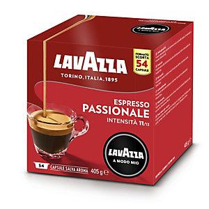 Lavazza A Modo Mio Passionale, Capsule per caffè Espresso, Tostatura scura, 54 dosi, 405 g (confezione 54 capsule)