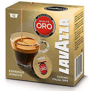 Lavazza A Modo Mio Qualità Oro Capsule per caffè, Espresso, Tostatura media, 12 dosi, 90 g