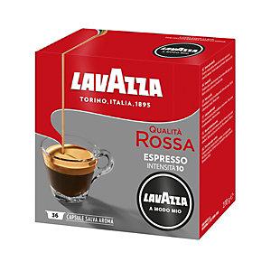 Lavazza A Modo Mio Qualità Rossa, Capsule per caffè, Espresso, Tostatura media, 36 dosi, 270 g
