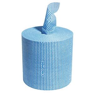 Lavettes Chicopee en bobine 300 formats bleu