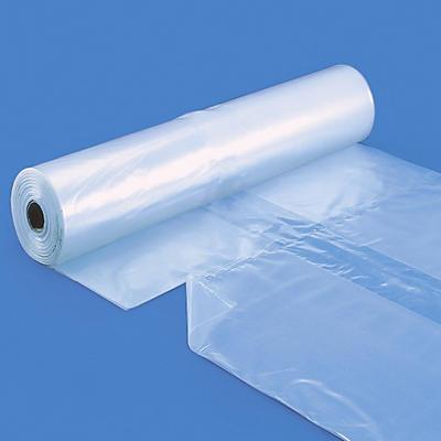 Housse plastique prédécoupée rétractable pour palette en rouleau##LDPE-Schrumpfhauben, vorgeschnittene Hüllen auf der Rolle