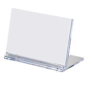 LEBEZ Portanome pieghevole da tavolo - 8x5 cm - Lebez