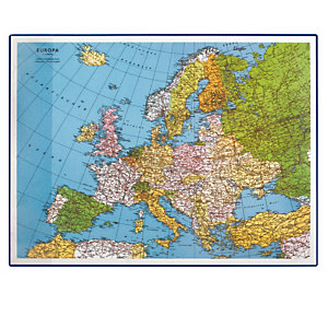 LEBEZ Sottomano Geographic Europa - 40x53 cm - LAufer