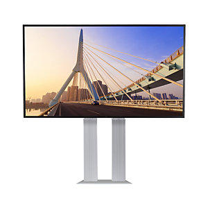 Legamaster Colonne de fixation électriquement réglable en hauteur pour écran interactif  jusqu'à 86''