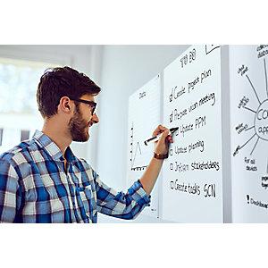 Legamaster Magic Chart Whiteboard Láminas electrostáticas de 600 x 800 mm, con 25 láminas y 1 rotulador para pizarras TZ 100