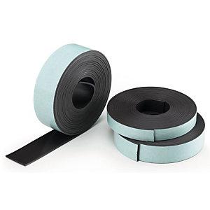 Legamaster Nastro magnetico, Autoadesivo, 12,5 mm x 3 m, Marrone
