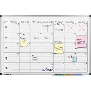 Legamaster Tableau planning universel blanc - 60x45cm