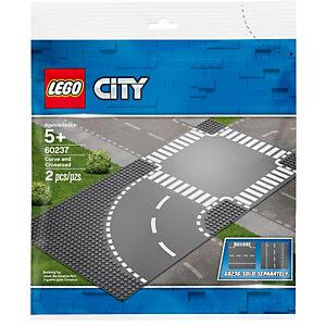 Lego, Costruzioni, City curva e incrocio, 60237C