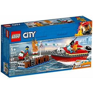 Lego, Costruzioni, Incendio al porto, 60213A