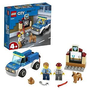 Lego, Costruzioni, Unità cinofila della polizia- cy, 60241