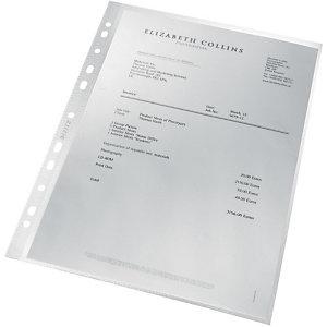 LEITZ A4 showtas, polypropyleen, transparant