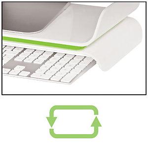 Leitz Base per monitor regolabile Leitz Ergo WOW, Bianco/Verde