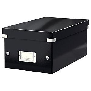 Leitz boîte de rangement Click & Store pour DVD - Noir