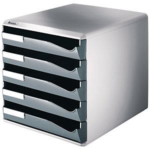 LEITZ Bureauladenkastje, polystyreen, 285 x 355 x 290 mm, grijs