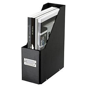 Leitz Clic & Store Revistero, cartón rígido, 100 x 333 x 255 mm, negro