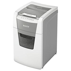 Leitz Destructeur de documents IQ Auto+ Small Office 150 coupe micro DIN P5 - 150 feuilles - corbeille 44L