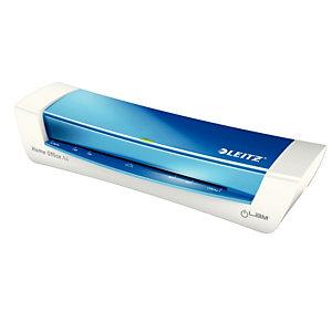 Leitz iLam® A4 Plastificadora térmica para oficina y casa, azul metalizado, 125 micras