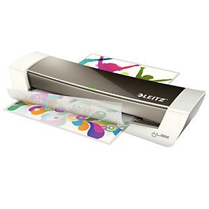 Leitz iLam® A4 Plastificadora térmica para oficina y casa, gris oscuro, 125 micras