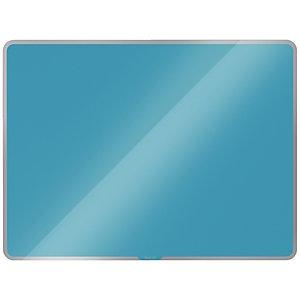 Leitz Lavagna magnetica in vetro Linea Cosy, Blu calmo, cm 80 x 60 h