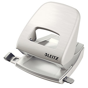 Leitz NeXXt Series 5006 Style, Perforatore 2 fori, Capacità 30 fogli, Bianco artico