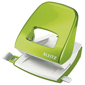 Leitz NeXXt Series 5008 WOW, Perforatore 2 fori, Capacità 30 fogli, Verde lime