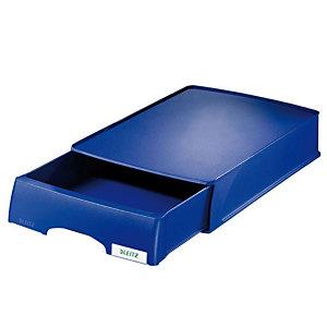 Leitz Plus bandeja con cajón azul