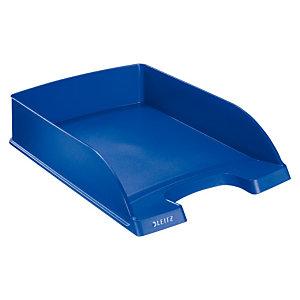 Leitz Plus Standard Bandeja de correspondencia, A4, poliestireno, azul, 70 x 255 x 357mm