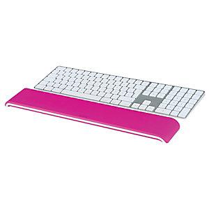 Leitz Poggiapolsi per tastiera regolabile Leitz Ergo WOW, Bianco/Fucsia