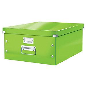 Leitz Scatola archivio Click & Store A3, Cartone, Coperchio removibile, Verde Lime, 369 x 482 x 200 mm