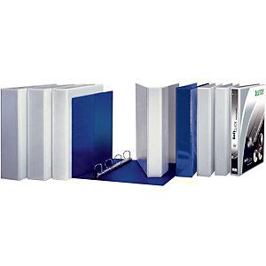 Leitz SoftClick Raccoglitore ad anelli personalizzabile, A4+, Dorso 51 mm, Capacità 280 fogli, Cartone, Bianco